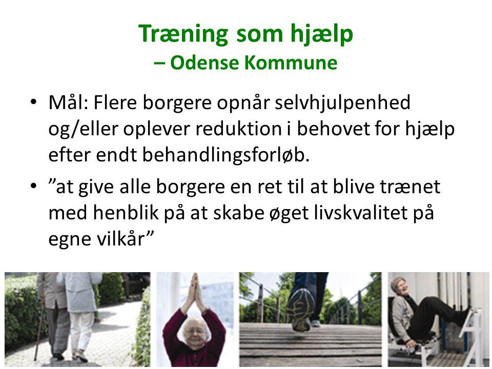 Træning som hjælp – Odense Kommune