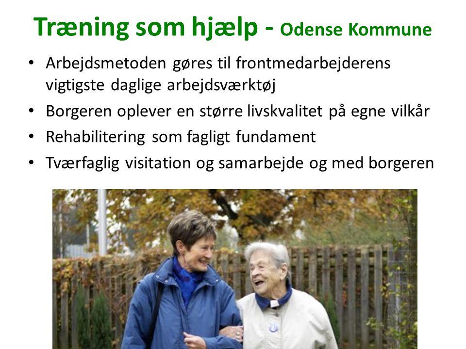 Træning som hjælp - Odense Kommune