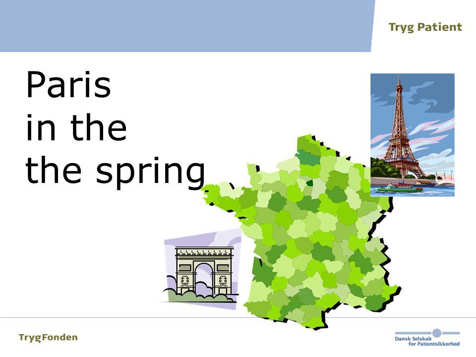 Paris in the. the spring. Vis dette billede i 5 sekunder - og sæt på sort skærm fx ved at trykke på Fn + F7.