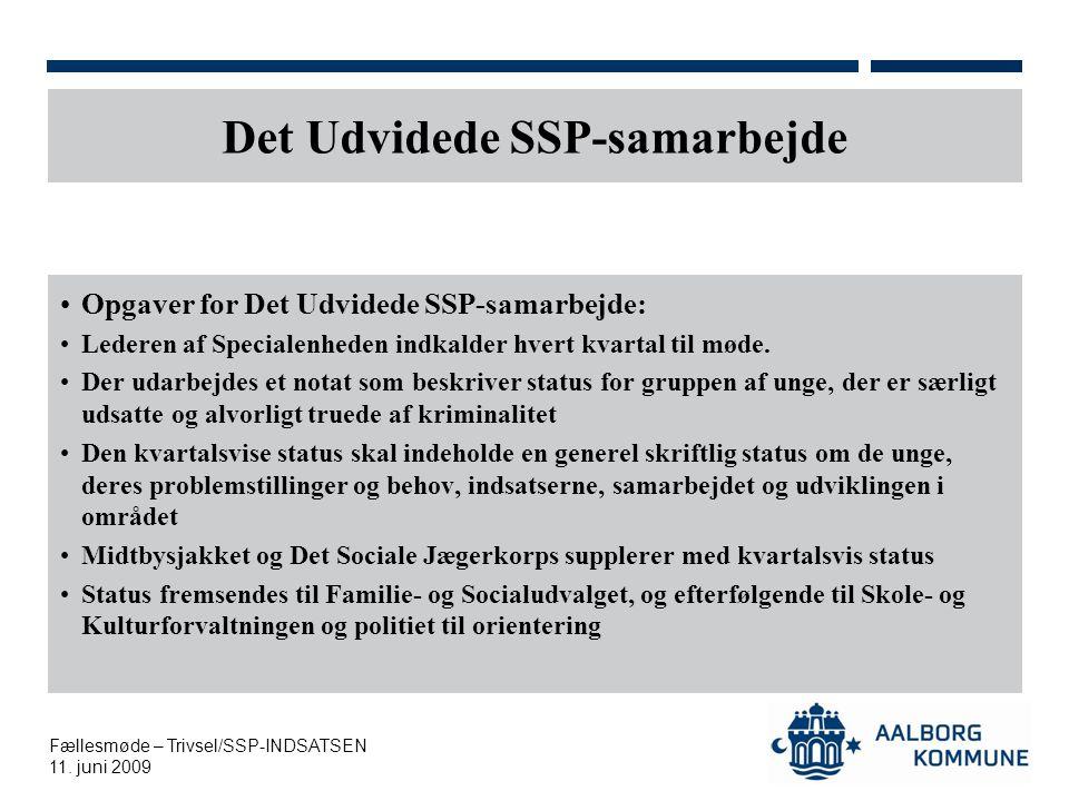 Det Udvidede SSP-samarbejde
