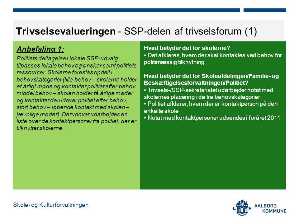 Trivselsevalueringen - SSP-delen af trivselsforum (1)