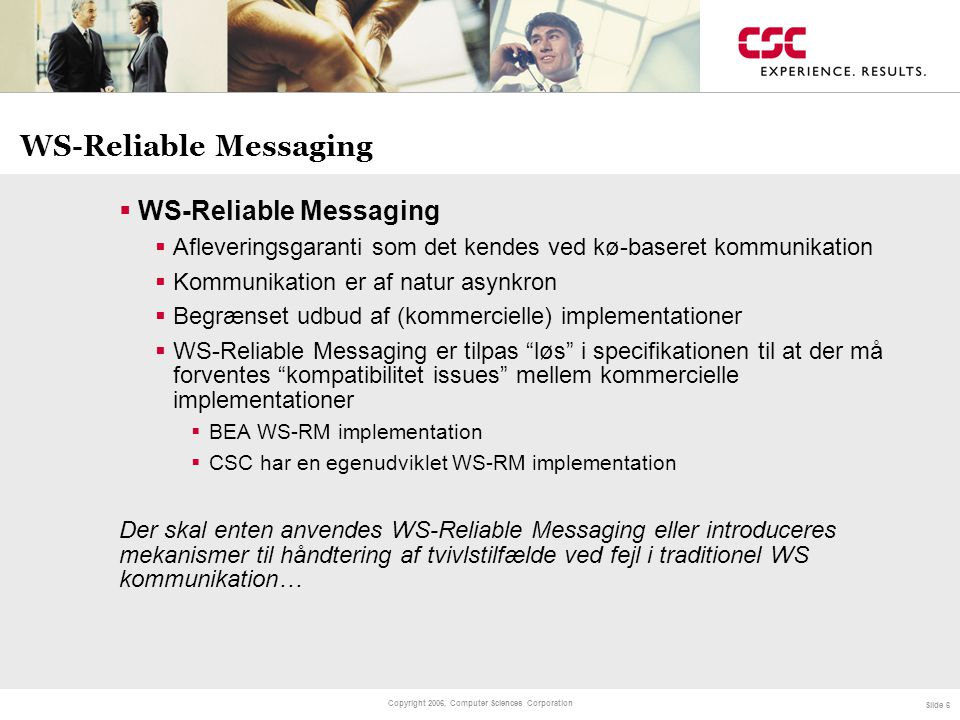 WS-Reliable Messaging