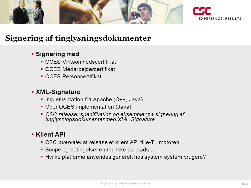 Signering af tinglysningsdokumenter