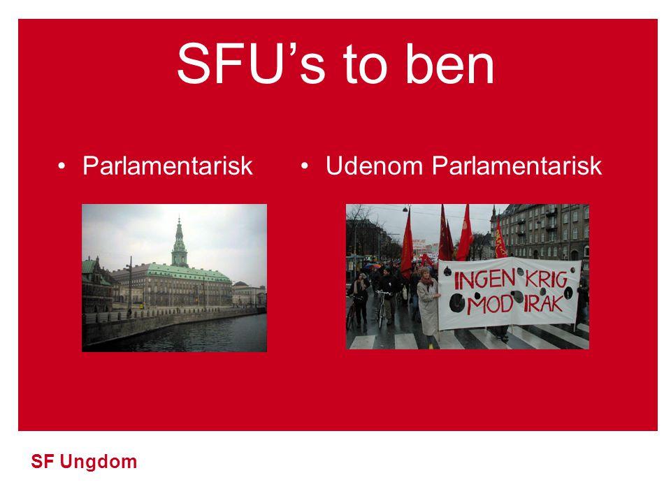 SFU's to ben Parlamentarisk Udenom Parlamentarisk