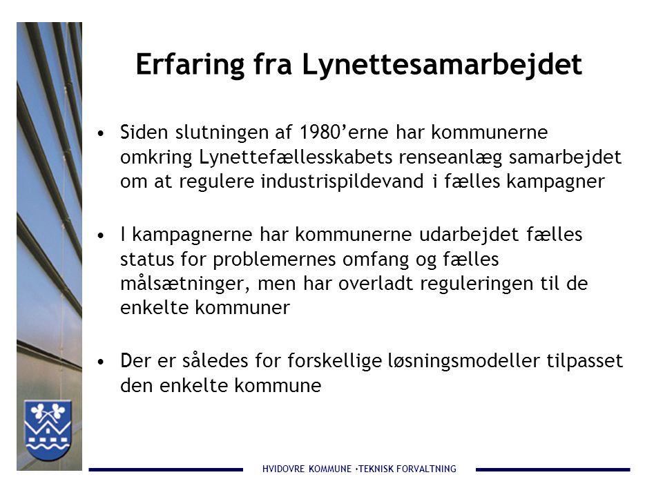 Erfaring fra Lynettesamarbejdet