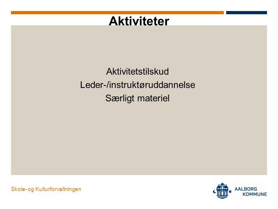 Leder-/instruktøruddannelse