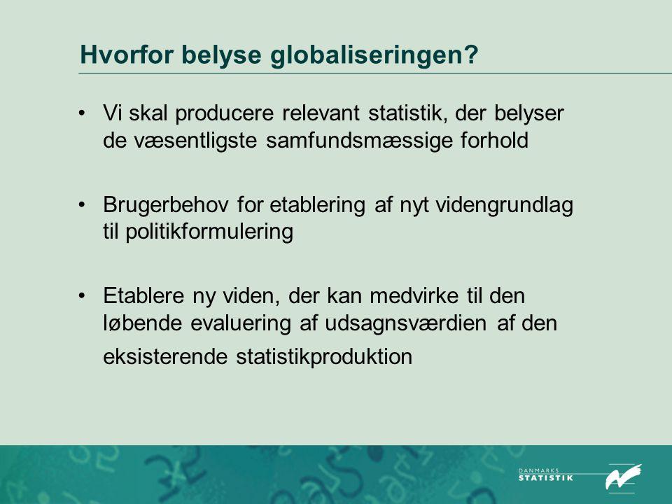 Hvorfor belyse globaliseringen