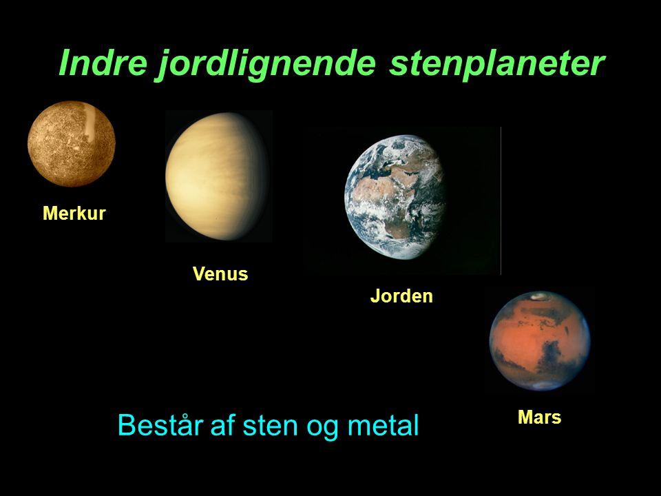 Indre jordlignende stenplaneter