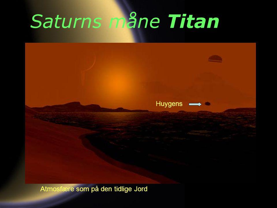 Saturns måne Titan Huygens Atmosfære som på den tidlige Jord