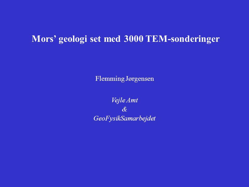 Mors' geologi set med 3000 TEM-sonderinger
