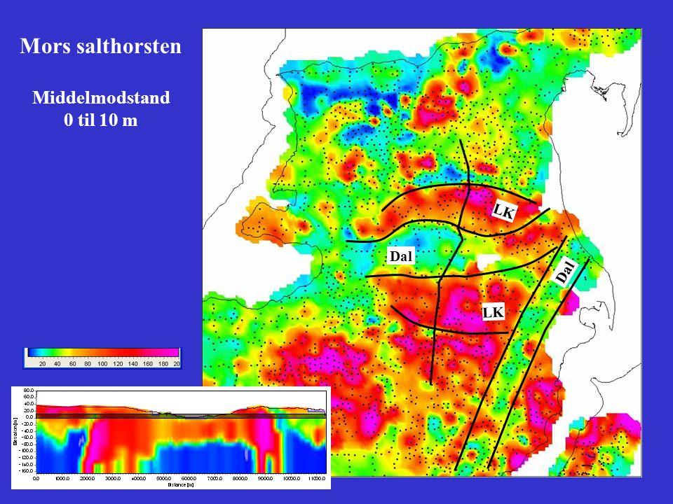 Mors salthorsten Middelmodstand 0 til 10 m