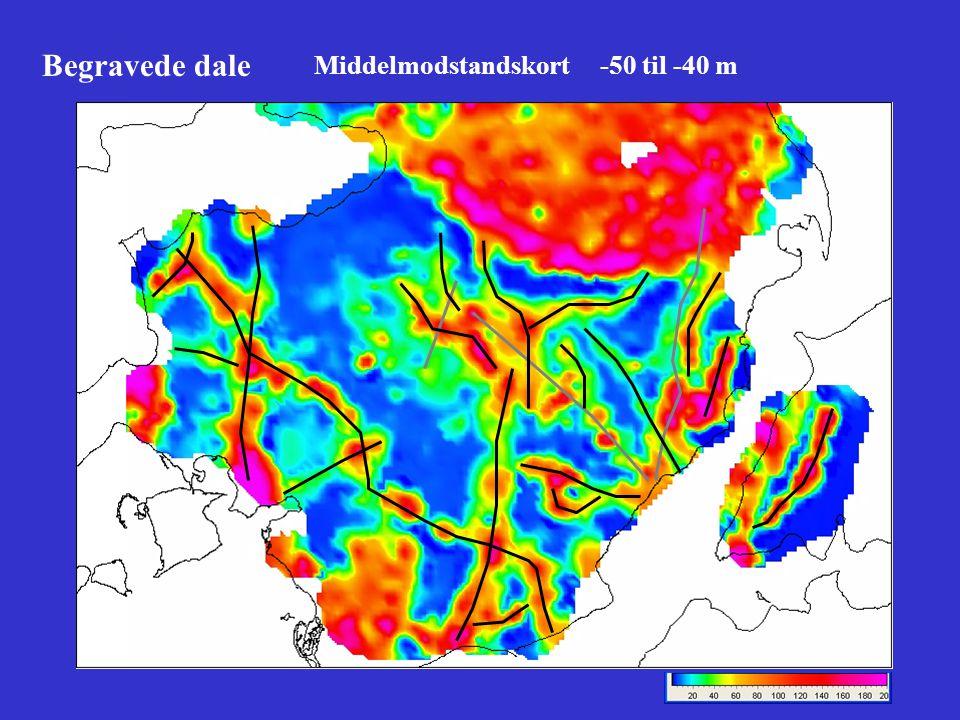 Begravede dale Middelmodstandskort -50 til -40 m
