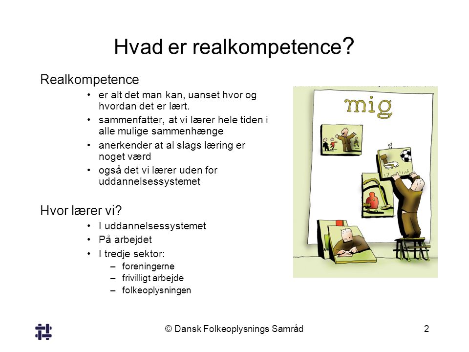 Hvad er realkompetence