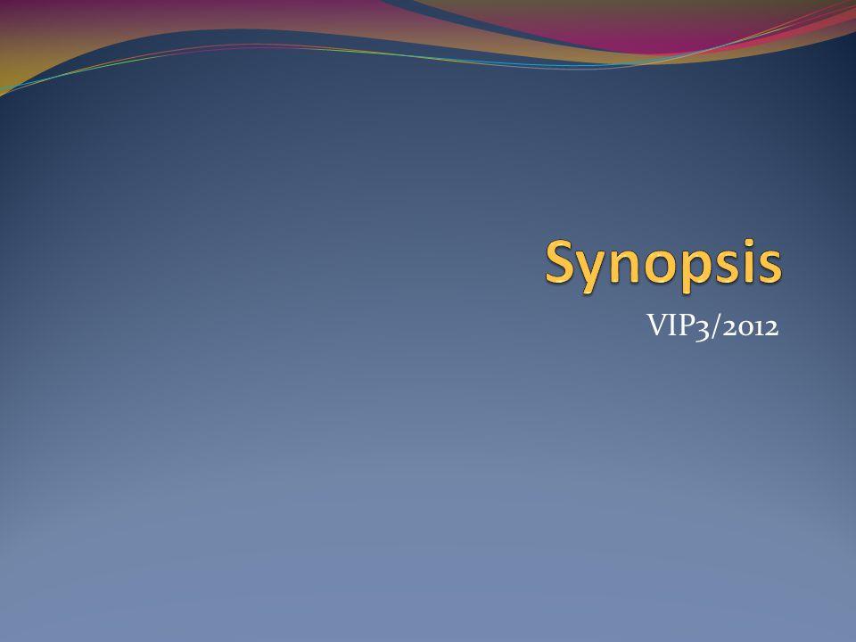 Synopsis VIP3/2012