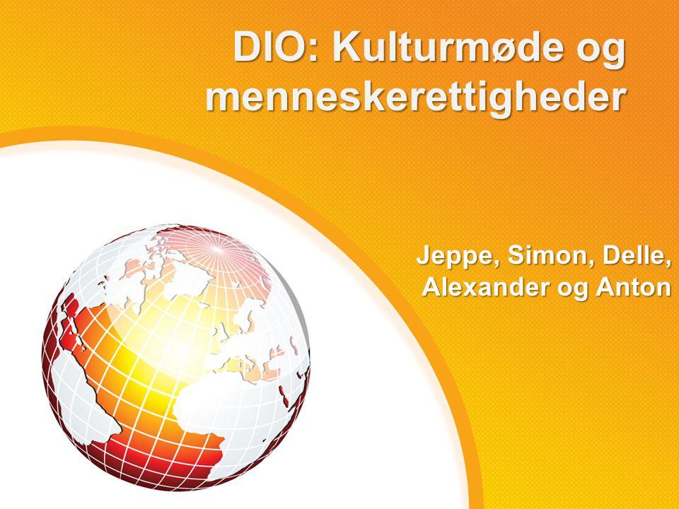 DIO: Kulturmøde og menneskerettigheder