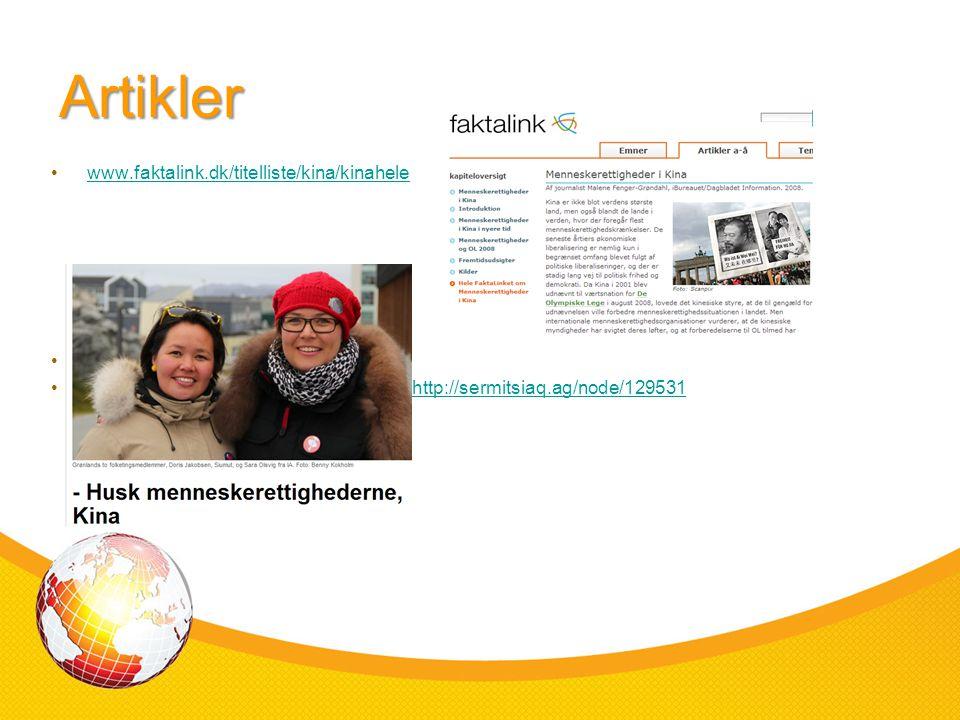 Artikler www.faktalink.dk/titelliste/kina/kinahele
