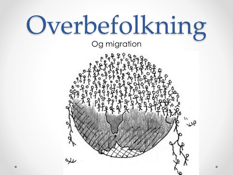 Overbefolkning Og migration