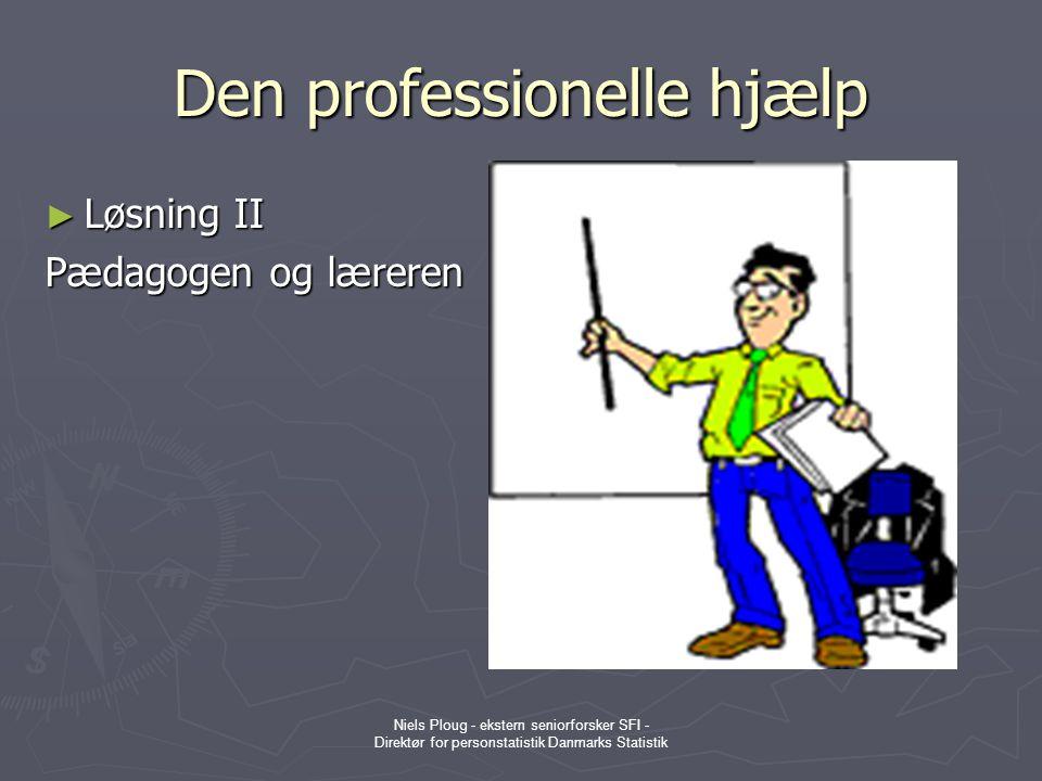 Den professionelle hjælp