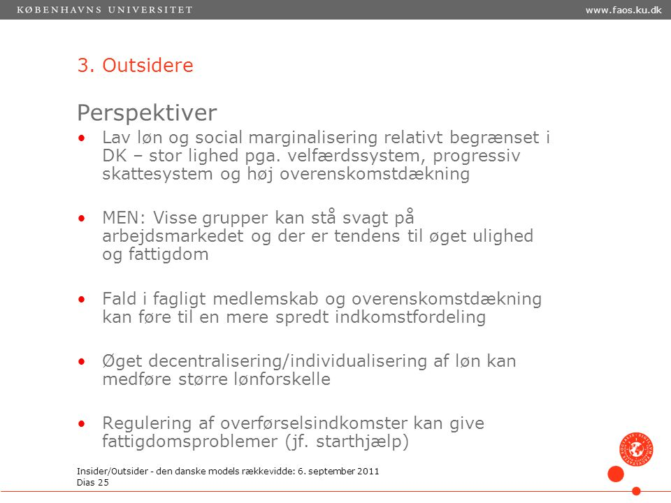 Perspektiver 3. Outsidere