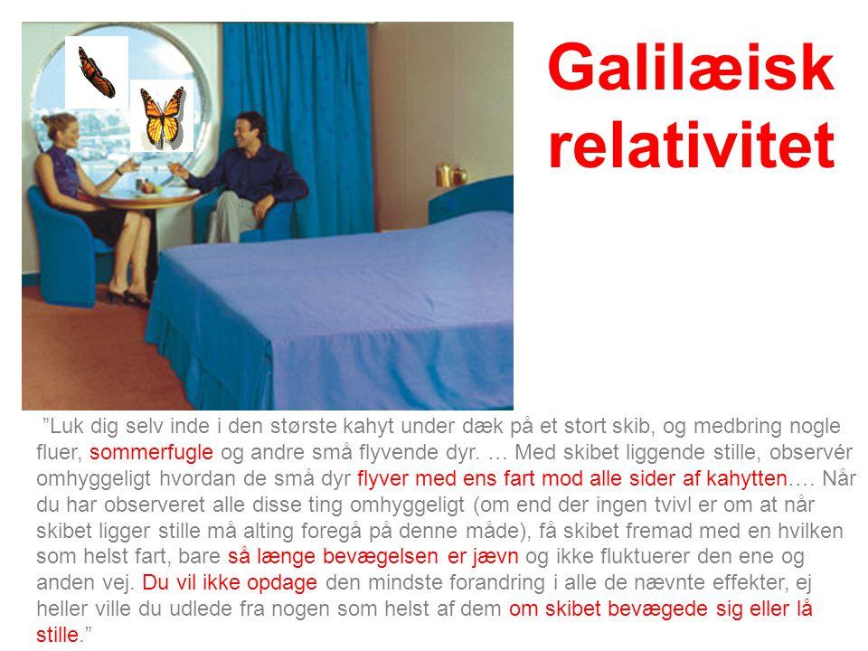 Galilæisk relativitet