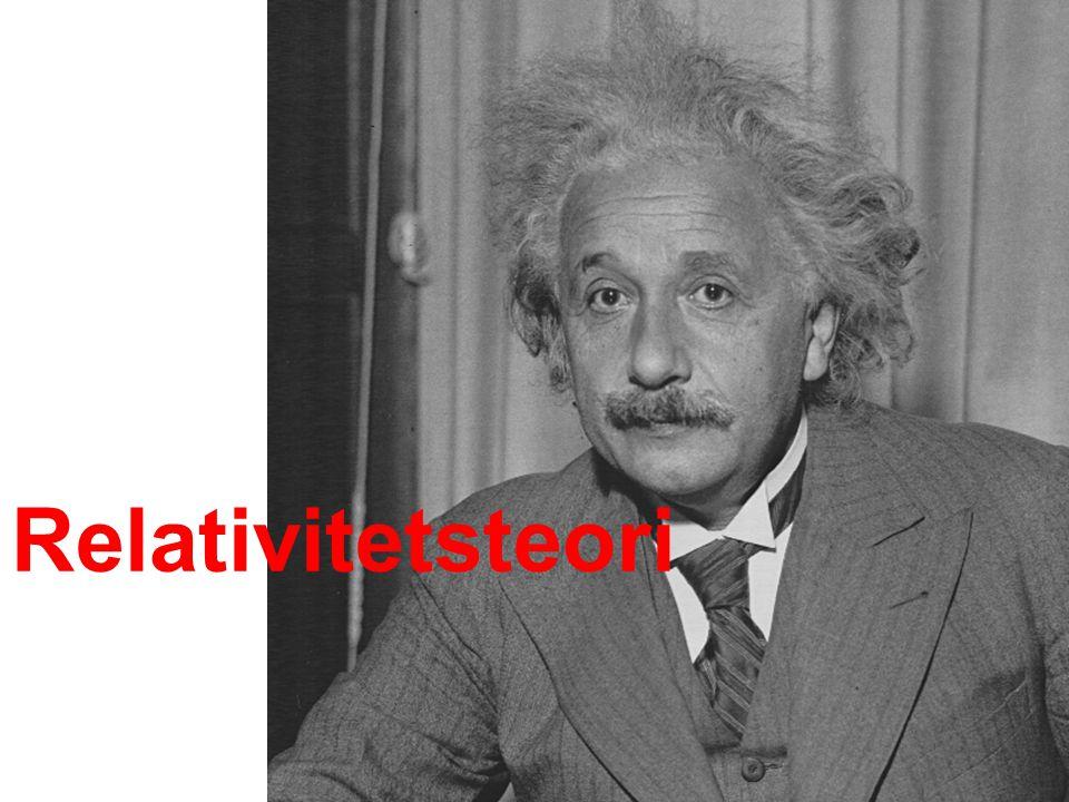 Relativitetsteori