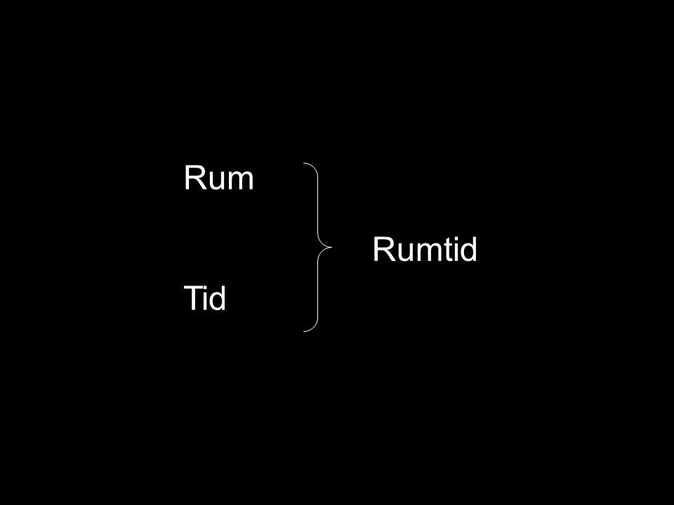 Rum Tid Rumtid