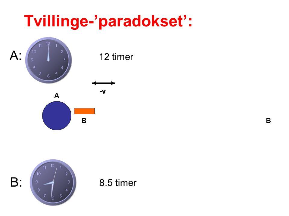 Tvillinge-'paradokset':