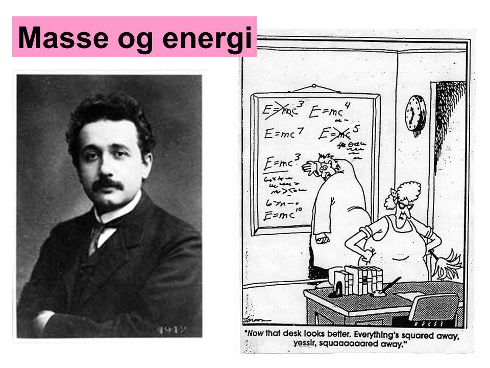 Masse og energi