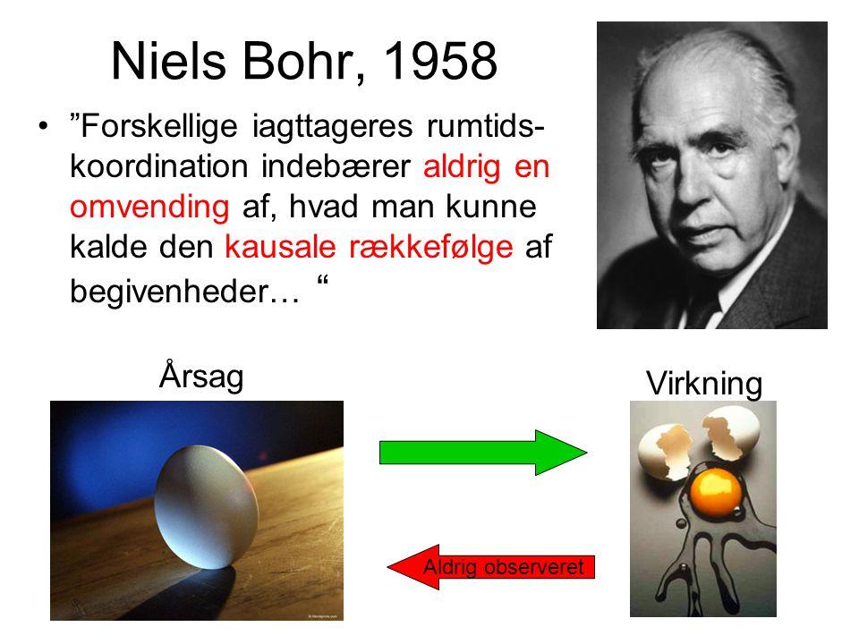 Niels Bohr, 1958