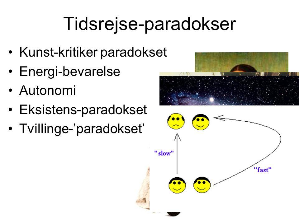 Tidsrejse-paradokser