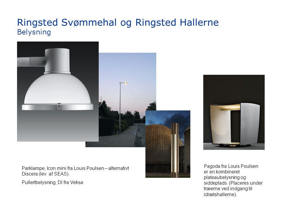 Ringsted Svømmehal og Ringsted Hallerne Belysning
