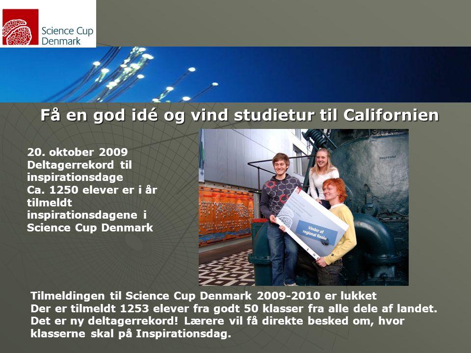 Få en god idé og vind studietur til Californien