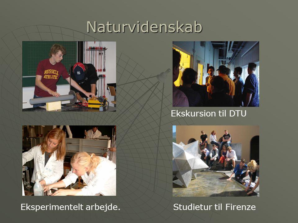Naturvidenskab Ekskursion til DTU Eksperimentelt arbejde.