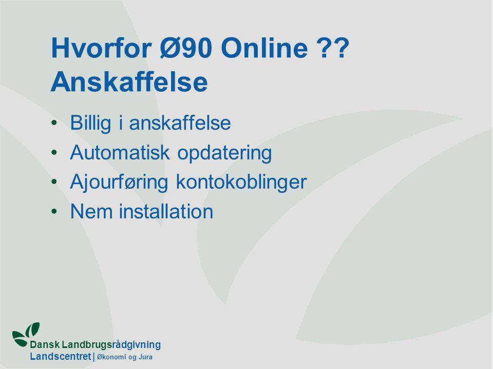 Hvorfor Ø90 Online Anskaffelse