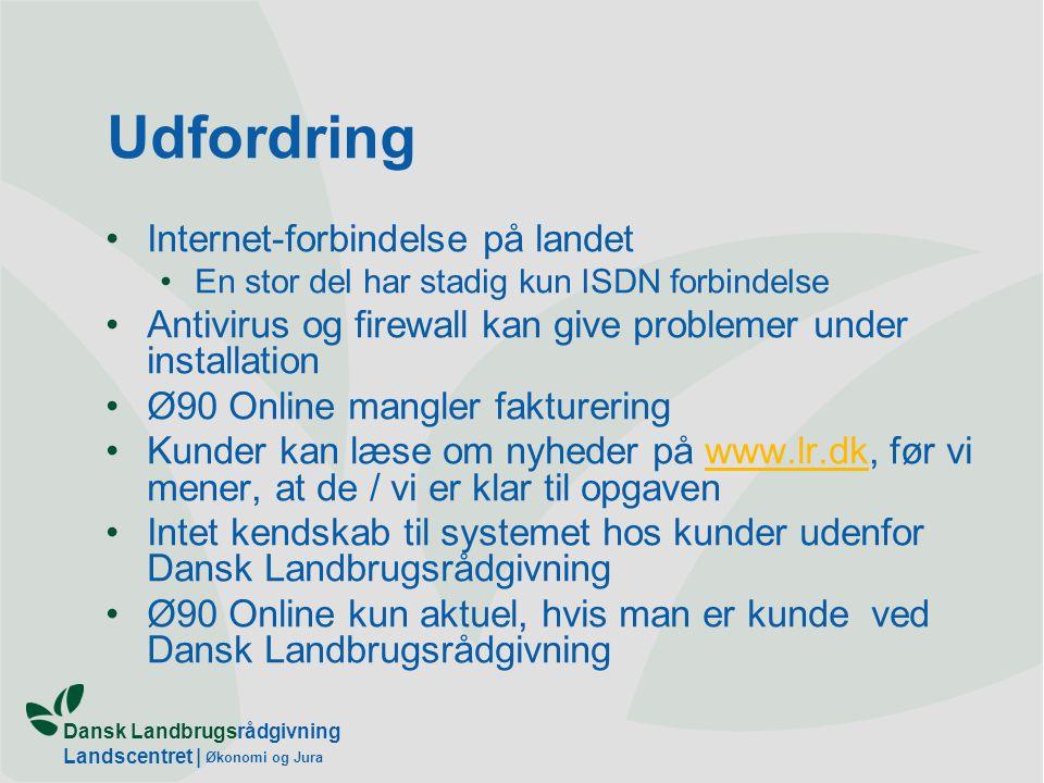 Udfordring Internet-forbindelse på landet