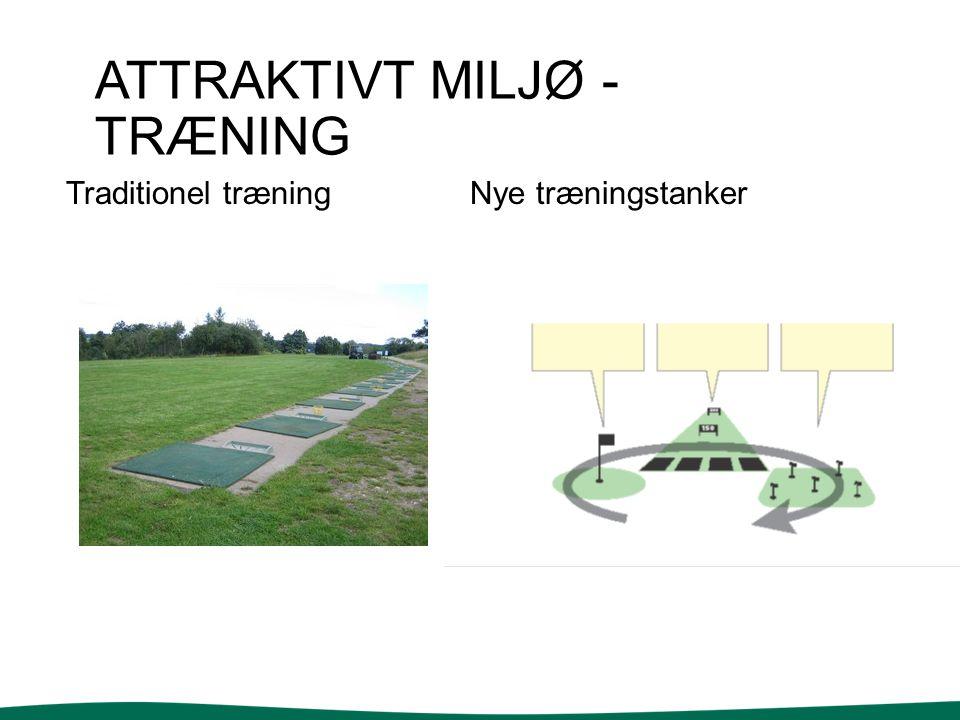 ATTRAKTIVT MILJØ - TRÆNING