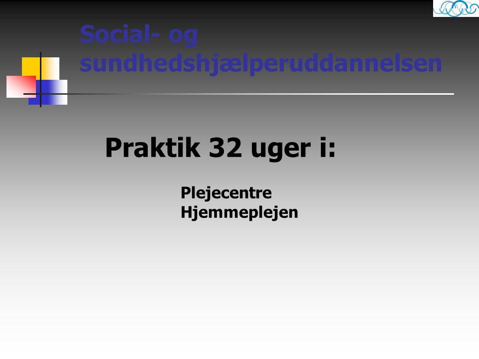 Social- og sundhedshjælperuddannelsen