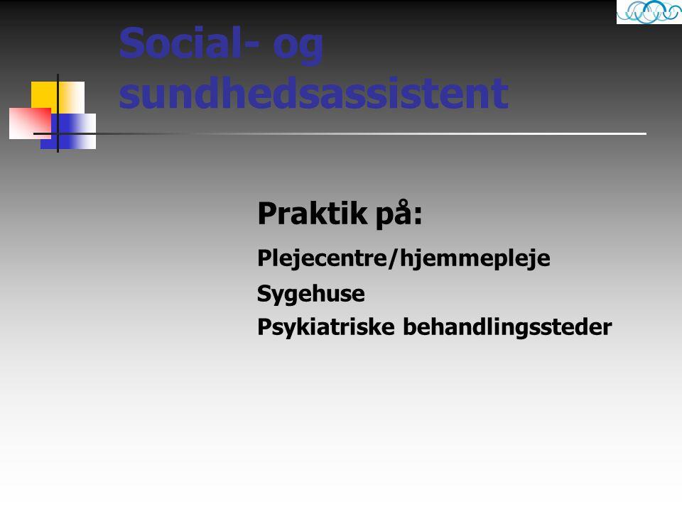 Social- og sundhedsassistent