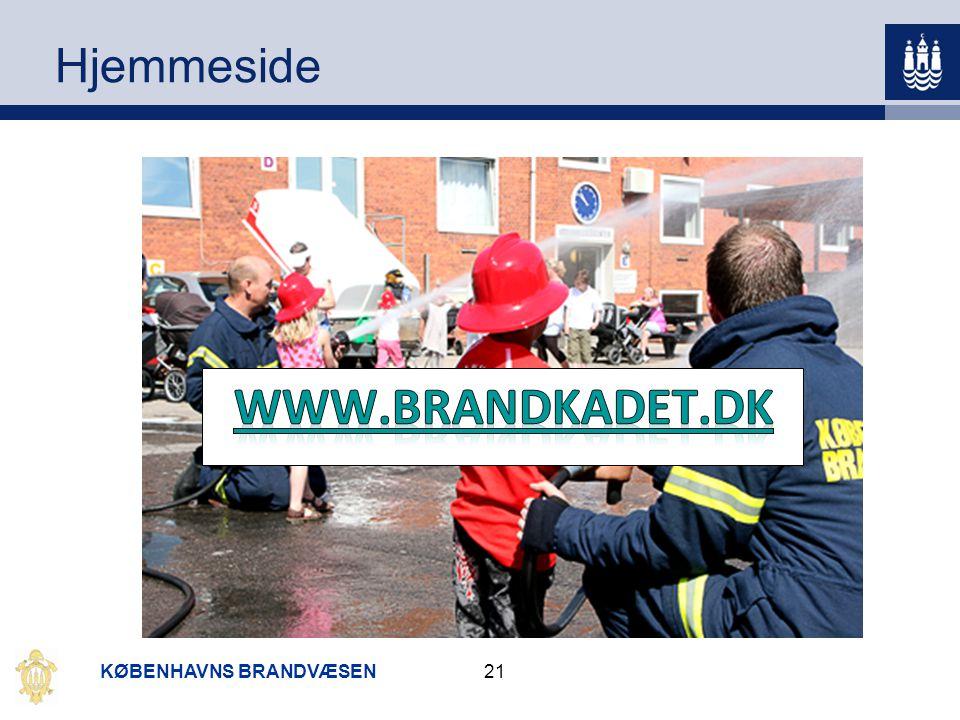 www.brandkadet.dk Hjemmeside