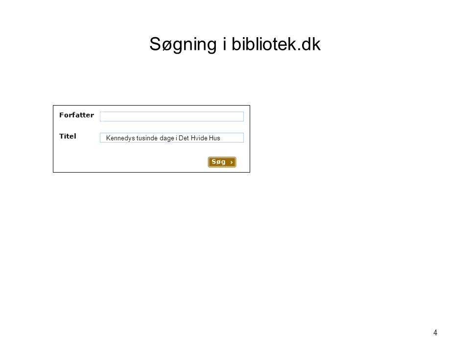 Søgning i bibliotek.dk Visualisering nr. 4