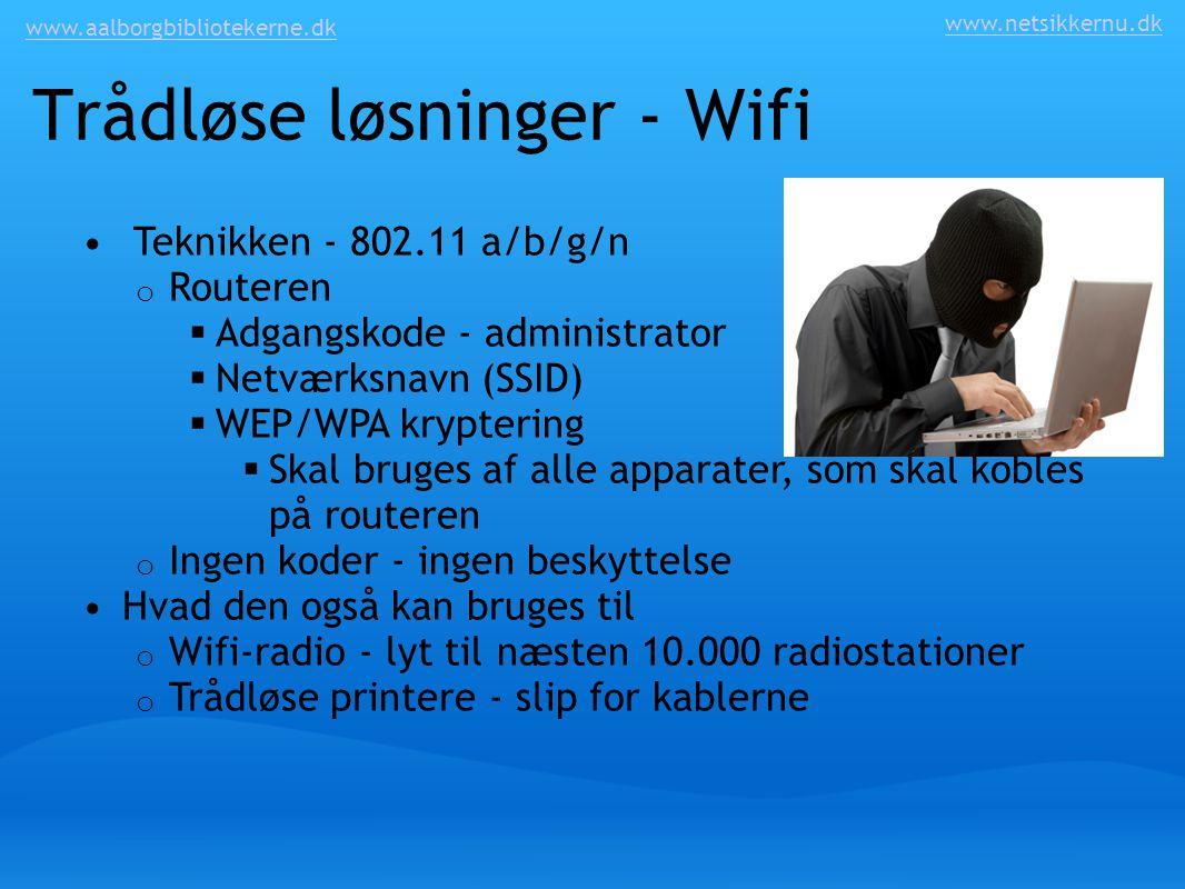 Trådløse løsninger - Wifi