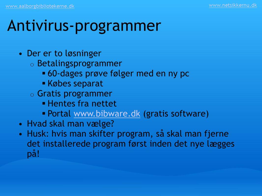 Antivirus-programmer