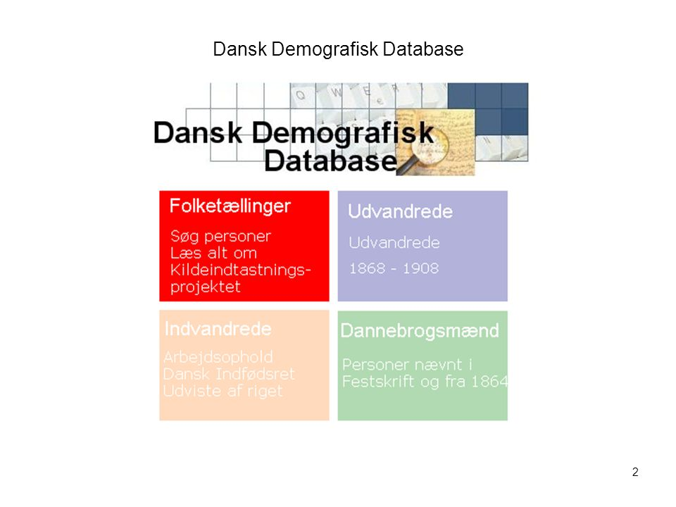 Dansk Demografisk Database