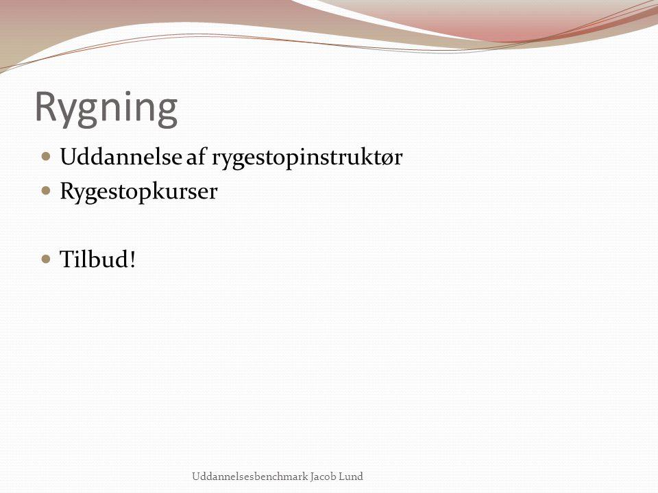 Rygning Uddannelse af rygestopinstruktør Rygestopkurser Tilbud!
