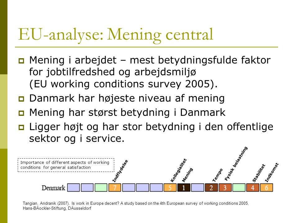 EU-analyse: Mening central