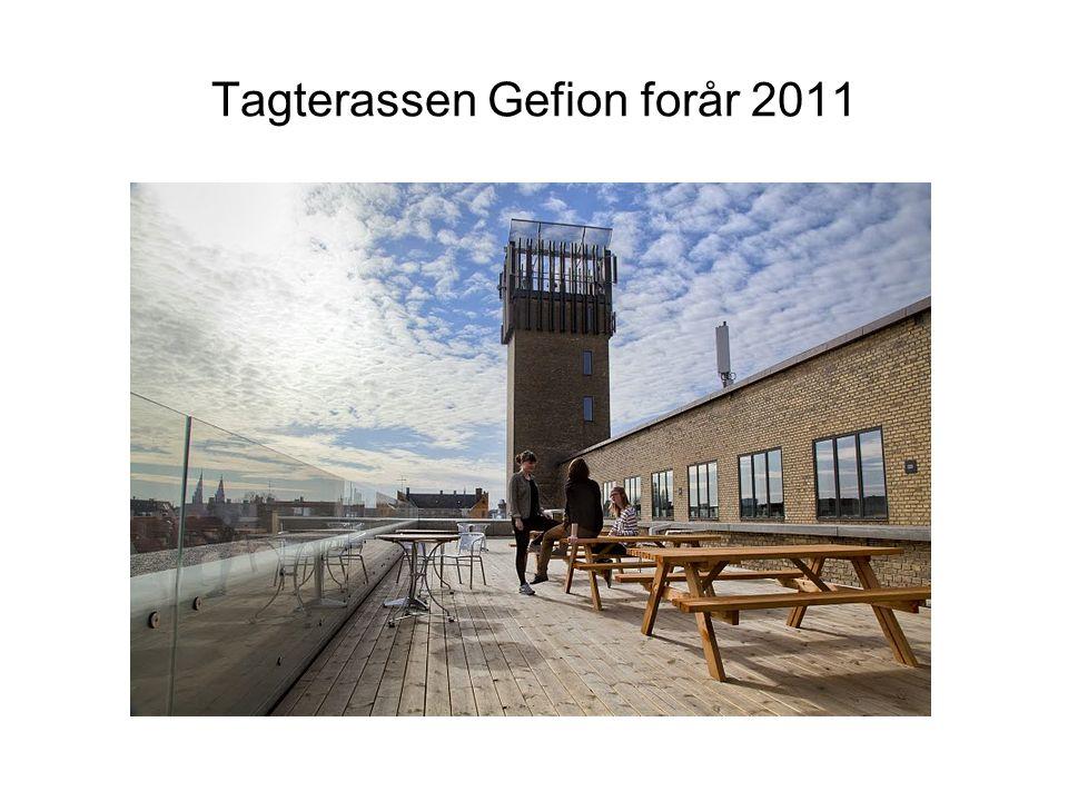 Tagterassen Gefion forår 2011