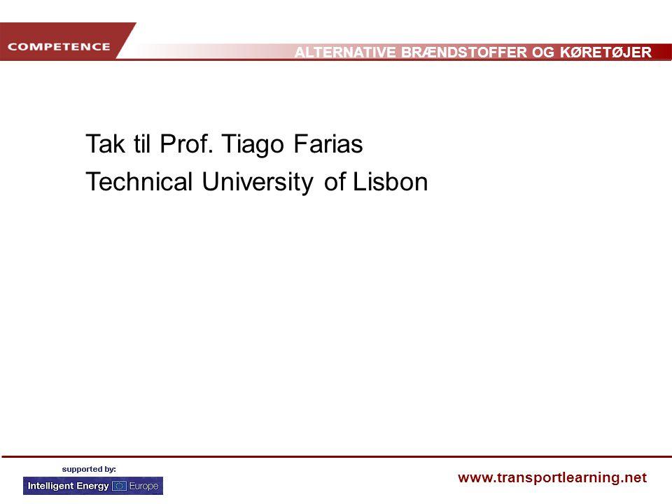 Tak til Prof. Tiago Farias