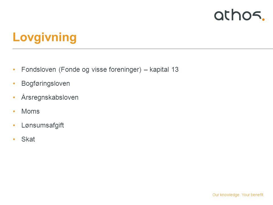 Lovgivning Fondsloven (Fonde og visse foreninger) – kapital 13