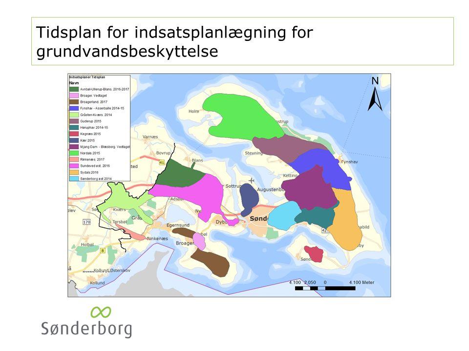 Indsatsplan for grundvandsbeskyttelse, Sønderborg øst