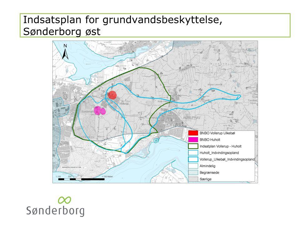 Indsatsplan for grundvandsbeskyttelse Sønderborg øst